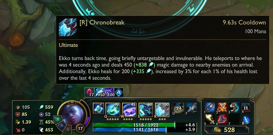 bug chronobreak