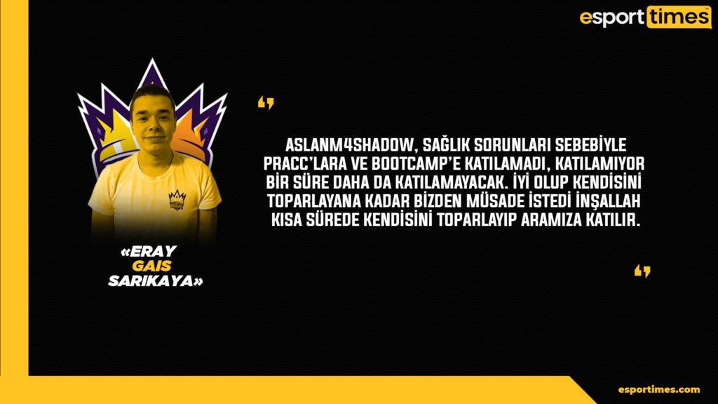 BBL Esports - AsLanM4shadoW