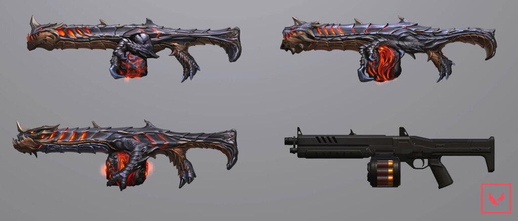 VALORANT silah  seviyeleri